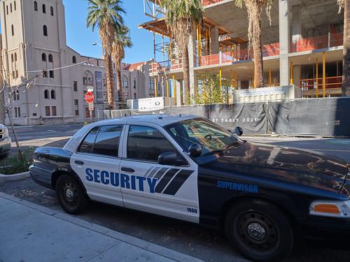 Private Security Squad Car
