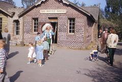 1954 Bottle House Indian Knotts Berry Farm  Los Angeles CA