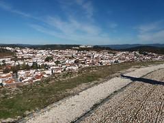 Vistas del pueblo de Aracena desde su castillo (Huelva).
