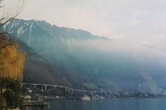 Lake Geneva near Montreaux, Switzerland