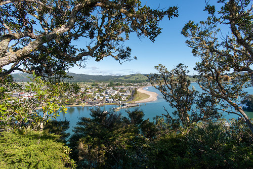 Whitianga from Whitianga Rock, New Zealand