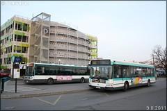 Renault Agora S – RATP (Régie Autonome des Transports Parisiens) / STIF (Syndicat des Transports d'Île-de-France) n°2251 & Irisbus Citélis Line – RATP (Régie Autonome des Transports Parisiens) / STIF (Syndicat des Transports d'Île-de-France) n°3847