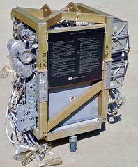 Apollo Command Module Environmental Control Unit (ECU) and CO2 Scrubber