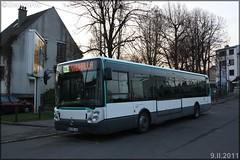Irisbus Citélis Line – RATP (Régie Autonome des Transports Parisiens) / STIF (Syndicat des Transports d'Île-de-France) n°3833