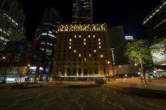 Hotel Georgia light up with heart