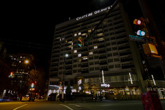 Chateau Granville light up with heart