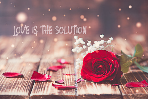 Love is the solution