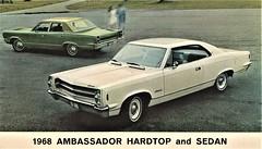 1968 AMC Ambassador Hardtop and Sedan