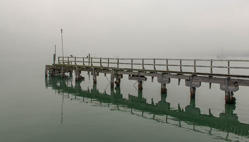 Old Wharf at Catalina Bay, Auckland, New Zealand