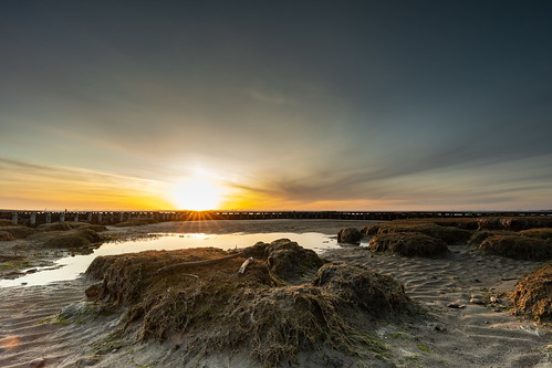 Sunset Beach Husum Dockkoog