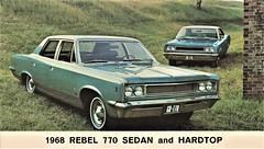 1968 AMC Rebel 770 Sedan and Hardtop
