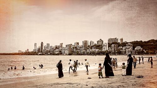 Chowpatty Beach, Mumbai, 2015