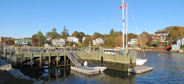 Front Harbour, Chester, Lunenburg County, South Shore (Nouvelle-Écosse). Chester situé à 65 km de Halifax compte une population de 2 300 habitants environ.