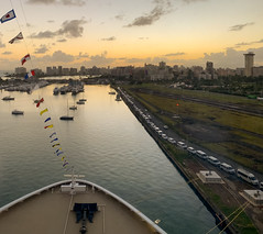 Cruise Port at Dawn