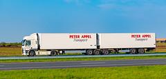 Truck Spotting on the A58/E312 Direction Kruiningen-Netherlands 17/04/2020.