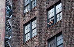 New Yorkers Applause Health Care Workers From Apartment Windows New York City COVID19 Quarantine