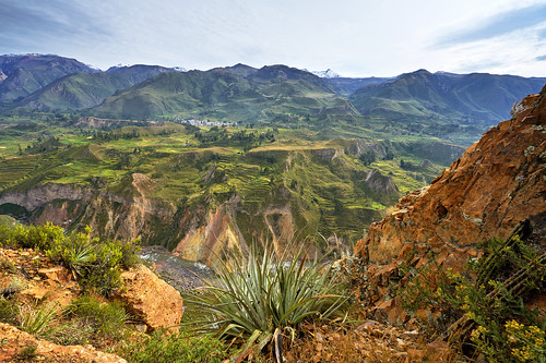 Colca Canyon Panorama - Peru