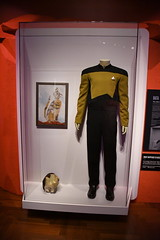 Commander Data - Star Trek - The Next Generation - Star Trek: Exploring New Worlds Exhibit at the Henry Ford Museum, Dearborn, Michigan