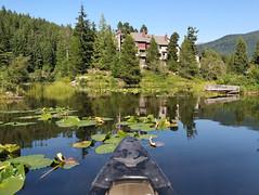 Canoeing on Alpha Lake