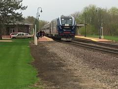 20190427 03 Amtrak @ Princeton, Illinois