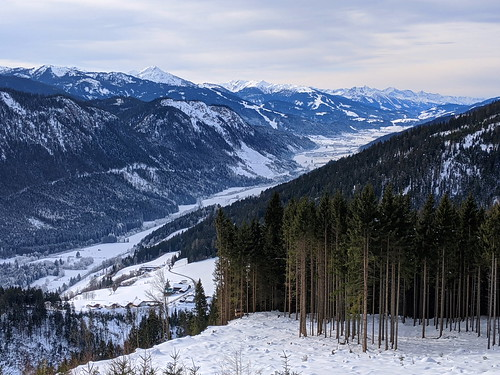 Looking west along Enns Valley