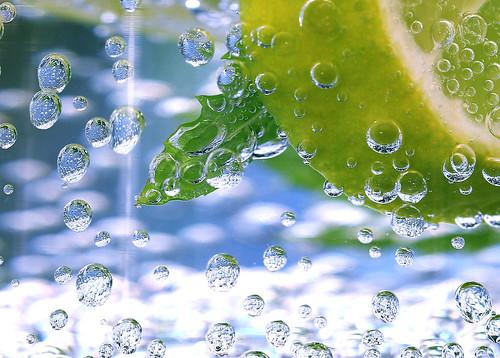 Inside the bubbles