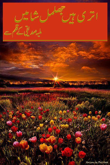 Utri Hen Jhilmil Shamain is a romantic and social urdu novel by Maliha Siddiqui.