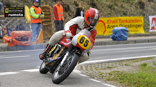 1962 Matchless G50 worksracer Hubert Furtner Schwanenstadt GP Austria (c) 2013 Берни Эггерян :: rumoto images 5179