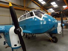 General Aircraft Monospar, AS-12, VH-UTH, Newark Air Museum, Nottinghamshire.