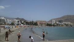Playa de Las Americas in Tenerife Spain