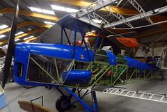 De Havilland DH.82 Tiger Moth, G-MAZY, Newark Air Museum, Nottinghamshire.