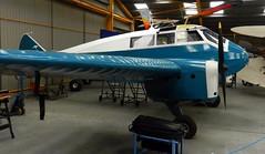 General Aircraft Monospar ST-12, VH-UTH, Newark Air Museum, Nottinghamshire.