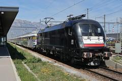 Buchs SG - Voralpen-Express on ES 64 U2-027