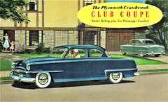 1953 Plymouth Cranbrook Club Coupe