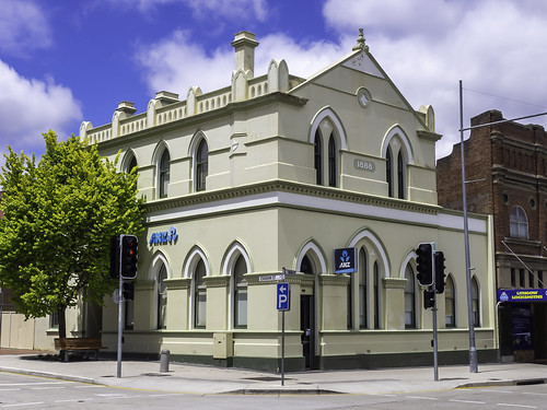 ANZ Bank building - Lithgow NSW - built 1888 - see below