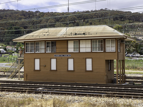 Lithgow Coal Stage Signal Box - Eskbank - built 1925 - see below