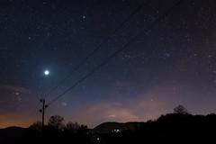 Venus, Pleiades and Capella.