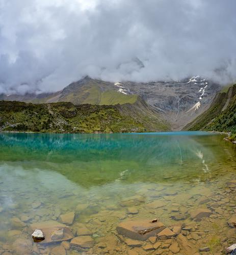 Laguna Humantay - Salkantay Trail to Machu Pichu, Peru