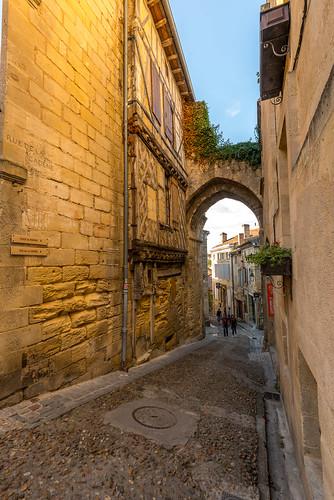 Rue de la Cadène, St Émilion, Gironde, France