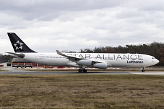 D-AIGV Airbus A340-300 Lufthansa opb Lufthansa CityLine StarAlliance FRA 2020-02-18 (12a)
