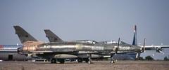55-2948 & 55-2888 McDonell-Douglas F-100D/E Super Sabres ex-Turkish Air Force STN  050889