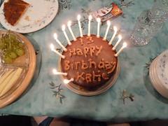 Katie's birthday 2013