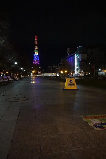 Photo:大通公園に人影がない By fukapon