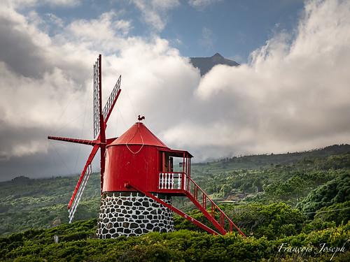 Le Moulin 'Ponta Rosa' / 'Ponta Rosa' windmill