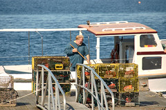 Lobsterman, Maine, 2013