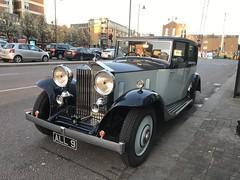 1934 Rolls Royce outside the Aquarium nightclub