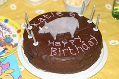 Katie's birthday 2006