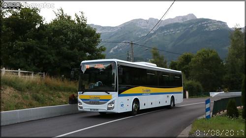 Iveco Bus Crossway – VFD (Voies Ferrées du Dauphiné) / Transisère n°614