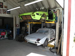 Cars seen at Bent Wrenches Autoservice