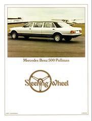 1982 Mercedes-Benz 500 Pullman Limousine